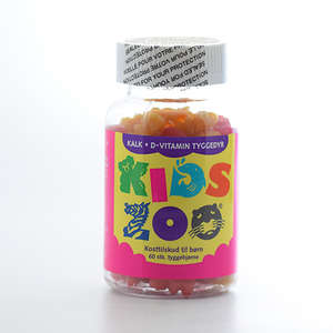 Kids Zoo Kalk+D tygge