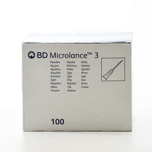 BD Microlance 3 kanyl.Hvid40mm