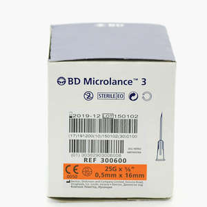 BD Microlance 3 Kanyle Ora16mm