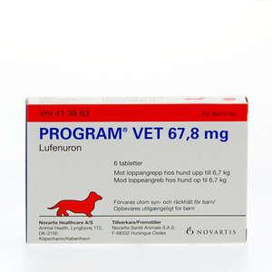 Program vet 67,8 mg 0-7 kg