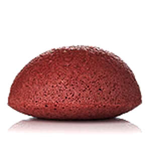Konjac Sponge Face Rød