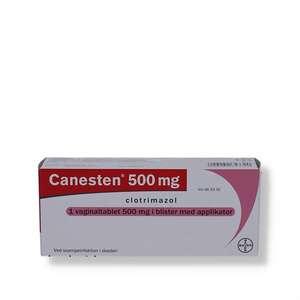 Canesten 500 mg vaginaltabl.