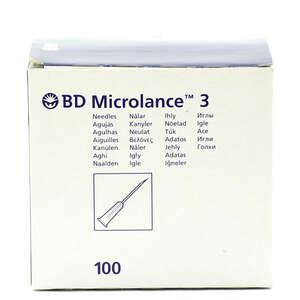 BD Microlance 3 Kanyle Sort50m
