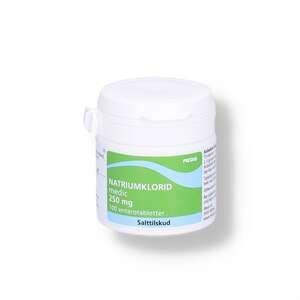 Natriumklorid 250 mg