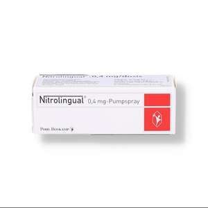 Nitrolingual 0,4 mg/dosis