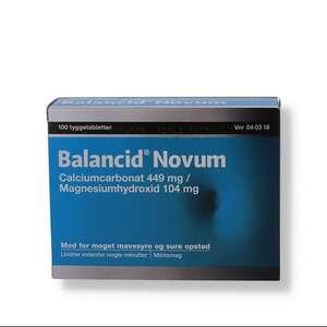 Balancid Novum 449 mg + 104 mg