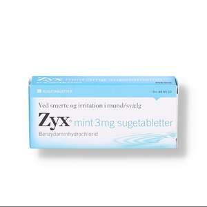 Zyx mint 3 mg