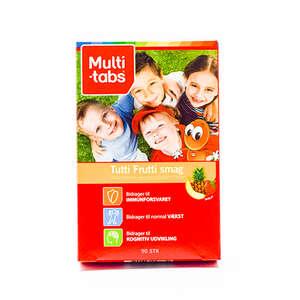 Multi-tabs TuttiFrutti 3-10 år