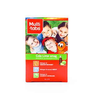 Multi-tabs Cola/Lime 3-10 år