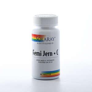 Solaray Femi Jern + C