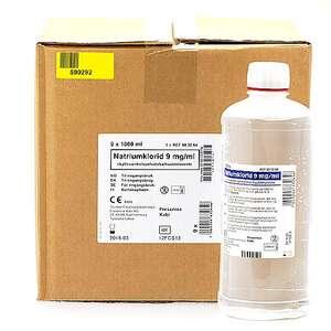 Natr.klor.skyllevæske 9 mg/ml