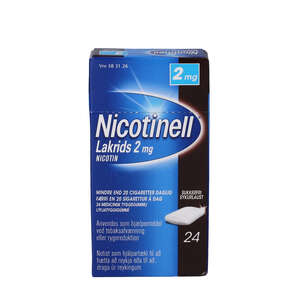 Nicotinell Lakrids 2 mg