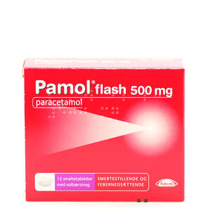Pamol Flash 500 mg