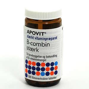 Apovit B-combin stærk tabletter