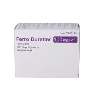 Ferro Duretter 100 mg
