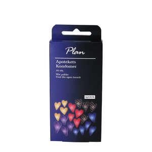 Plan Kondomer Mix pakke