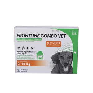 Frontline Combo Vet. Hunde 2-10 kg 3 stk