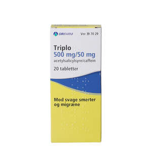 Triplo 500+50 mg 20 stk