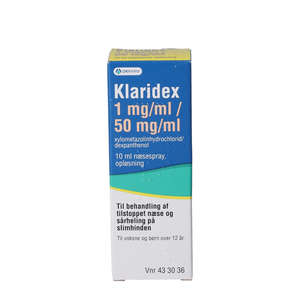 Klaridex 1+50 mg/ml