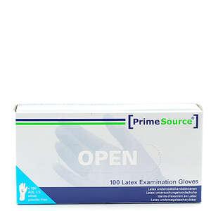 PrimeSource Latex Handsker u/pudder (L)