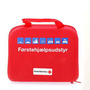 Røde Kors Førstehjælpstaske