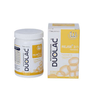 Duolac Rejse+ 2 i 1 med Prolac-T™ (30 stk)