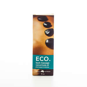 ECO. Back Massage Natural body oil