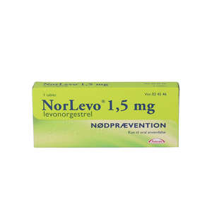 NorLevo (Takeda) 1,5 mg 1 stk