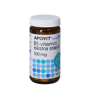 Apovit B1-vitamin tabletter