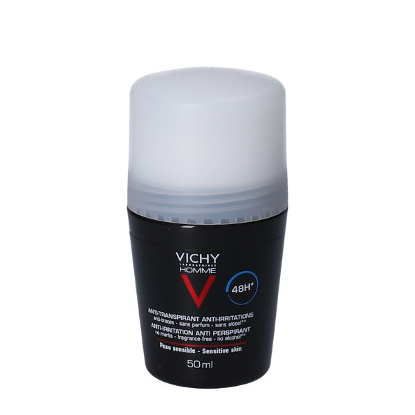 Vichy Homme Antiperspirant Deo Roll-on (48H)