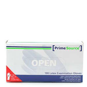 PrimeSource Latex Handsker u/pudder (M)