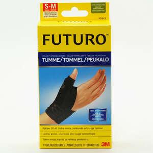 Futuro Deluxe tommelfingerstøtte (Sort S/M)