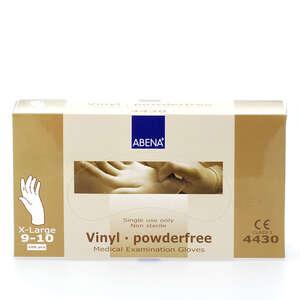 Abena Vinyl Handsker (XL-pudderfri)