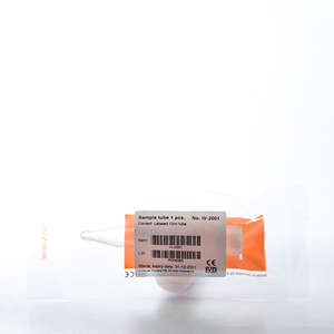 Urinprøverør (spids) med skruelåg