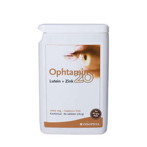 Ophtamin 20 Lutein + Zink tabletter