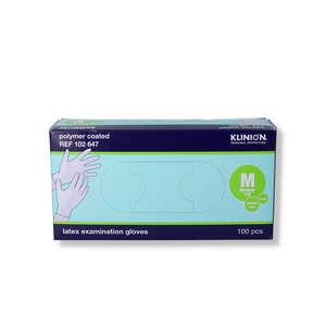 Klinion Protection Latex Handsker (M/pudderfri)