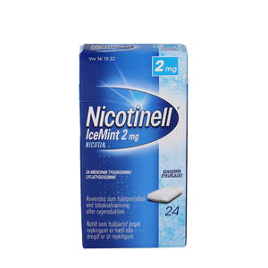 Nicotinell IceMint 2 mg 24 stk