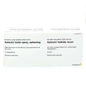 Xylocain Sprayrør (L)