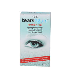 Tearsagain Sensitive Øjenspray