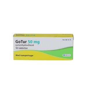 GoTur 50 mg 10 stk