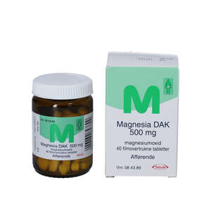 """Magnesia """"DAK"""" 40 stk"""