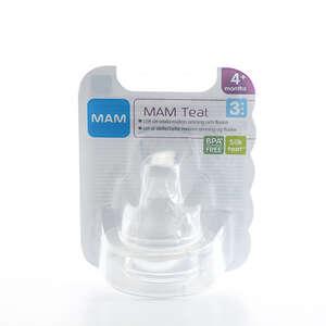 MAM Silk Teat Flaskesut (str. 3 til mælk)