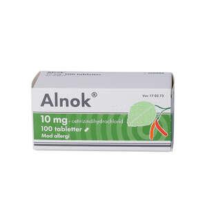 Alnok 10 mg 100 stk