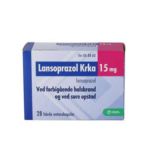 Lansoprazol KRKA 15 mg 28 stk