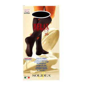 Solidea Relax Unisex 70 Knæstrømpe (XXL/Sort)