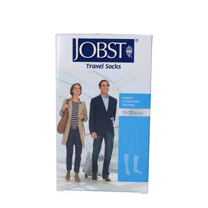 Jobst Travel Socks (Sort/L)