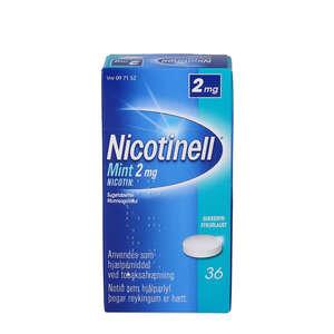 Nicotinell Mint 2 mg 36 stk