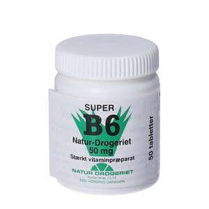 Naturdrogeriets Super B6-vitamin tabletter