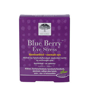 Blue Berry Eye Stress Tabletter