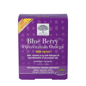 Blue Berry Omega 3 Kapsler